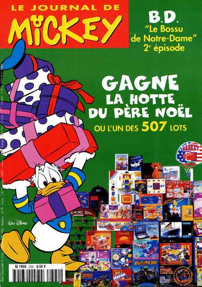 Cover for Le Journal de Mickey (Hachette, 1952 series) #2320