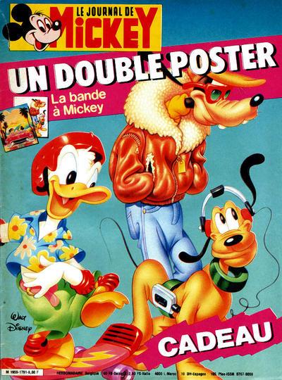 Cover for Le Journal de Mickey (Hachette, 1952 series) #1791