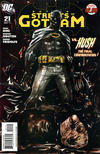 Cover for Batman: Streets of Gotham (DC, 2009 series) #21