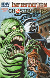 Cover for Ghostbusters: Infestation (IDW, 2011 series) #2 [Cover A]