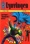 Cover for Lynvingen (Illustrerte Klassikere / Williams Forlag, 1969 series) #5/1972