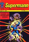 Cover for Supermann (Illustrerte Klassikere / Williams Forlag, 1969 series) #7/1971