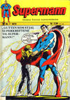Cover for Supermann (Illustrerte Klassikere / Williams Forlag, 1969 series) #7/1973