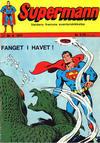Cover for Supermann (Illustrerte Klassikere / Williams Forlag, 1969 series) #9/1971