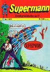 Cover for Supermann (Illustrerte Klassikere / Williams Forlag, 1969 series) #1/1974
