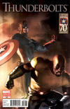 Cover for Thunderbolts (Marvel, 2006 series) #155 [Captain America 70th Anniversary]