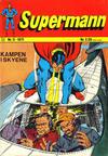 Cover for Supermann (Illustrerte Klassikere / Williams Forlag, 1969 series) #11/1971