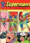 Cover for Supermann (Illustrerte Klassikere / Williams Forlag, 1969 series) #5/1972