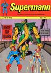 Cover for Supermann (Illustrerte Klassikere / Williams Forlag, 1969 series) #6/1972