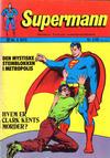 Cover for Supermann (Illustrerte Klassikere / Williams Forlag, 1969 series) #5/1973