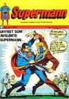 Cover for Supermann (Illustrerte Klassikere / Williams Forlag, 1969 series) #10/1974