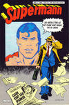 Cover for Supermann (Semic, 1985 series) #8/1986