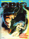 Cover for Epic (Semic, 1983 series) #5