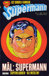 Cover for Supermann (Semic, 1977 series) #10/1980