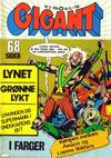 Cover for Gigant (Illustrerte Klassikere / Williams Forlag, 1969 series) #3/1976