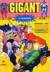 Cover for Gigant (Illustrerte Klassikere / Williams Forlag, 1969 series) #1/1970