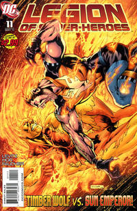 Cover Thumbnail for Legion of Super-Heroes (DC, 2010 series) #11