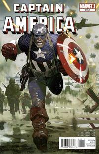 Cover Thumbnail for Captain America (Marvel, 2005 series) #615.1