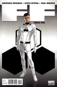 Cover Thumbnail for FF (Marvel, 2011 series) #1 [Djurdjevic]