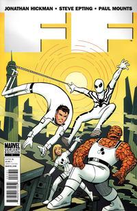 Cover Thumbnail for FF (Marvel, 2011 series) #1 [Goldberg]