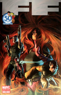 Cover Thumbnail for FF (Marvel, 2011 series) #1 [FF Anniversary Variant]