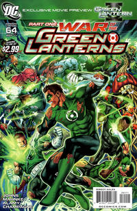 Cover Thumbnail for Green Lantern (DC, 2005 series) #64 [Standard Cover]