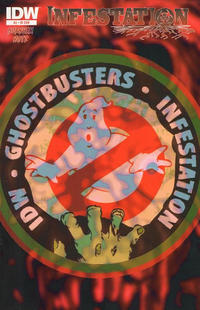 Cover Thumbnail for Ghostbusters: Infestation (IDW, 2011 series) #2 [Cover RI]
