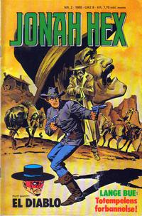 Cover Thumbnail for Jonah Hex (Semic, 1985 series) #2/1985