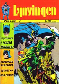 Cover Thumbnail for Lynvingen (Illustrerte Klassikere / Williams Forlag, 1969 series) #7/1973