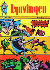 Cover Thumbnail for Lynvingen (Illustrerte Klassikere / Williams Forlag, 1969 series) #8/1973