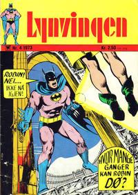 Cover Thumbnail for Lynvingen (Illustrerte Klassikere / Williams Forlag, 1969 series) #4/1973