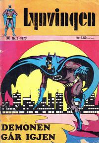 Cover Thumbnail for Lynvingen (Illustrerte Klassikere / Williams Forlag, 1969 series) #2/1973