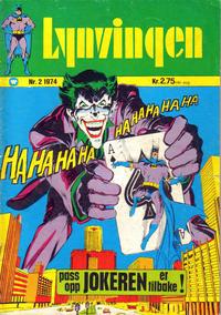 Cover Thumbnail for Lynvingen (Illustrerte Klassikere / Williams Forlag, 1969 series) #2/1974