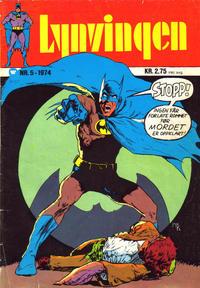 Cover Thumbnail for Lynvingen (Illustrerte Klassikere / Williams Forlag, 1969 series) #5/1974