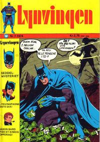 Cover Thumbnail for Lynvingen (Illustrerte Klassikere / Williams Forlag, 1969 series) #7/1974