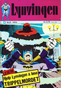 Cover Thumbnail for Lynvingen (Illustrerte Klassikere / Williams Forlag, 1969 series) #8/1974
