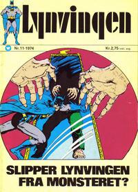 Cover Thumbnail for Lynvingen (Illustrerte Klassikere / Williams Forlag, 1969 series) #11/1974