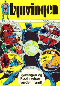 Cover Thumbnail for Lynvingen (Illustrerte Klassikere / Williams Forlag, 1969 series) #12/1974