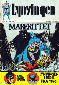 Cover Thumbnail for Lynvingen (Illustrerte Klassikere / Williams Forlag, 1969 series) #1/1975