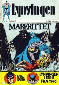 Cover Thumbnail for Lynvingen (Illustrerte Klassikere / Williams Forlag, 1969 series) #1/1975