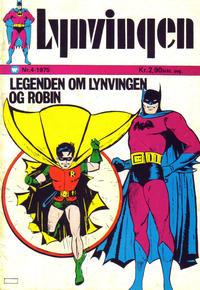 Cover Thumbnail for Lynvingen (Illustrerte Klassikere / Williams Forlag, 1969 series) #4/1975