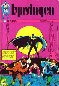 Cover Thumbnail for Lynvingen (Illustrerte Klassikere / Williams Forlag, 1969 series) #5/1975