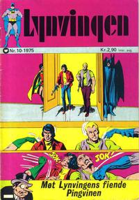 Cover Thumbnail for Lynvingen (Illustrerte Klassikere / Williams Forlag, 1969 series) #10/1975