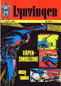 Cover Thumbnail for Lynvingen (Illustrerte Klassikere / Williams Forlag, 1969 series) #2/1972
