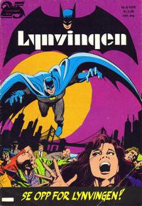 Cover Thumbnail for Lynvingen (Illustrerte Klassikere / Williams Forlag, 1969 series) #6/1976