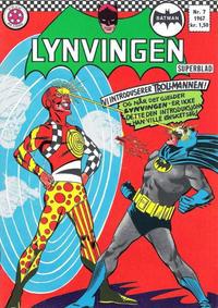 Cover Thumbnail for Lynvingen (Serieforlaget / Se-Bladene / Stabenfeldt, 1966 series) #7/1967
