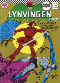 Cover for Lynvingen (Serieforlaget / Se-Bladene / Stabenfeldt, 1966 series) #3/1968