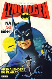 Cover Thumbnail for Lynvingen (Semic, 1977 series) #1/1979