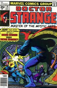 Cover Thumbnail for Doctor Strange (Marvel, 1974 series) #25 [35¢ Price Variant]
