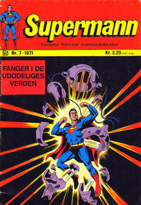 Cover Thumbnail for Supermann (Illustrerte Klassikere / Williams Forlag, 1969 series) #7/1971